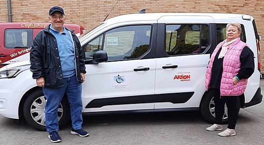 Bild: Ein neues behindertengerechtes Auto für die Leisetreter